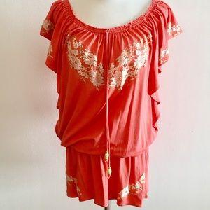Vanita Rosa Beach Mini dress